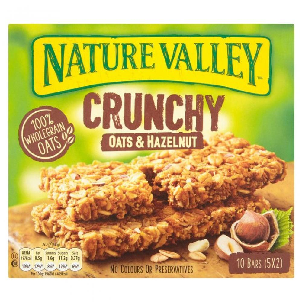 Nature Valley Crunchy Granola Bars Oats and Hazelnut 42g x 5