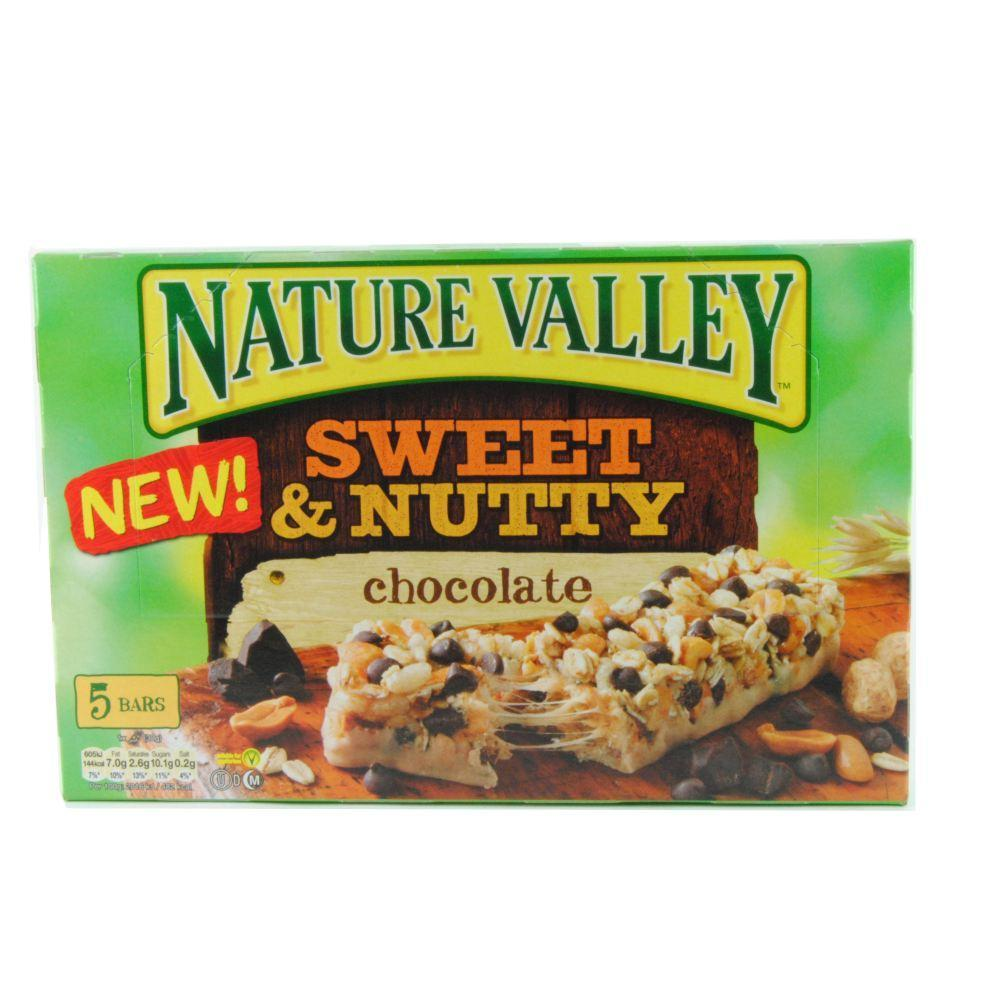 Nature Valley Sweet And Nutty Chocolate Bar 30g x 5