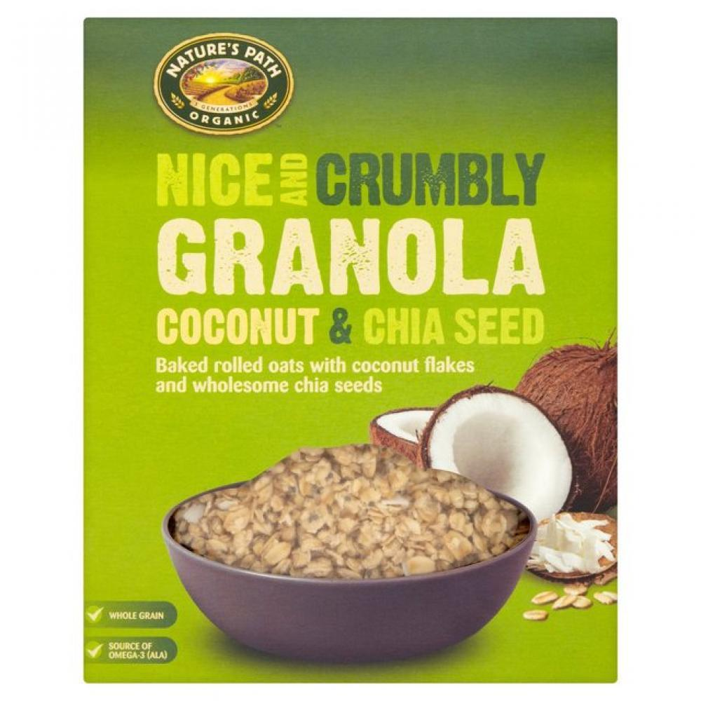 Natures Path Granola Coconut and Chia Seed 325g