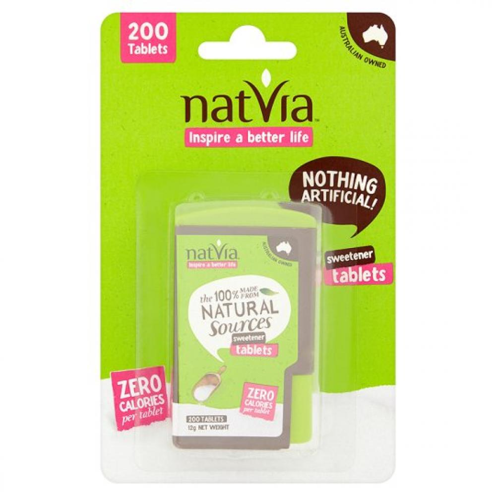 Natvia Sweetener Dispenser Tablets 200Tablets