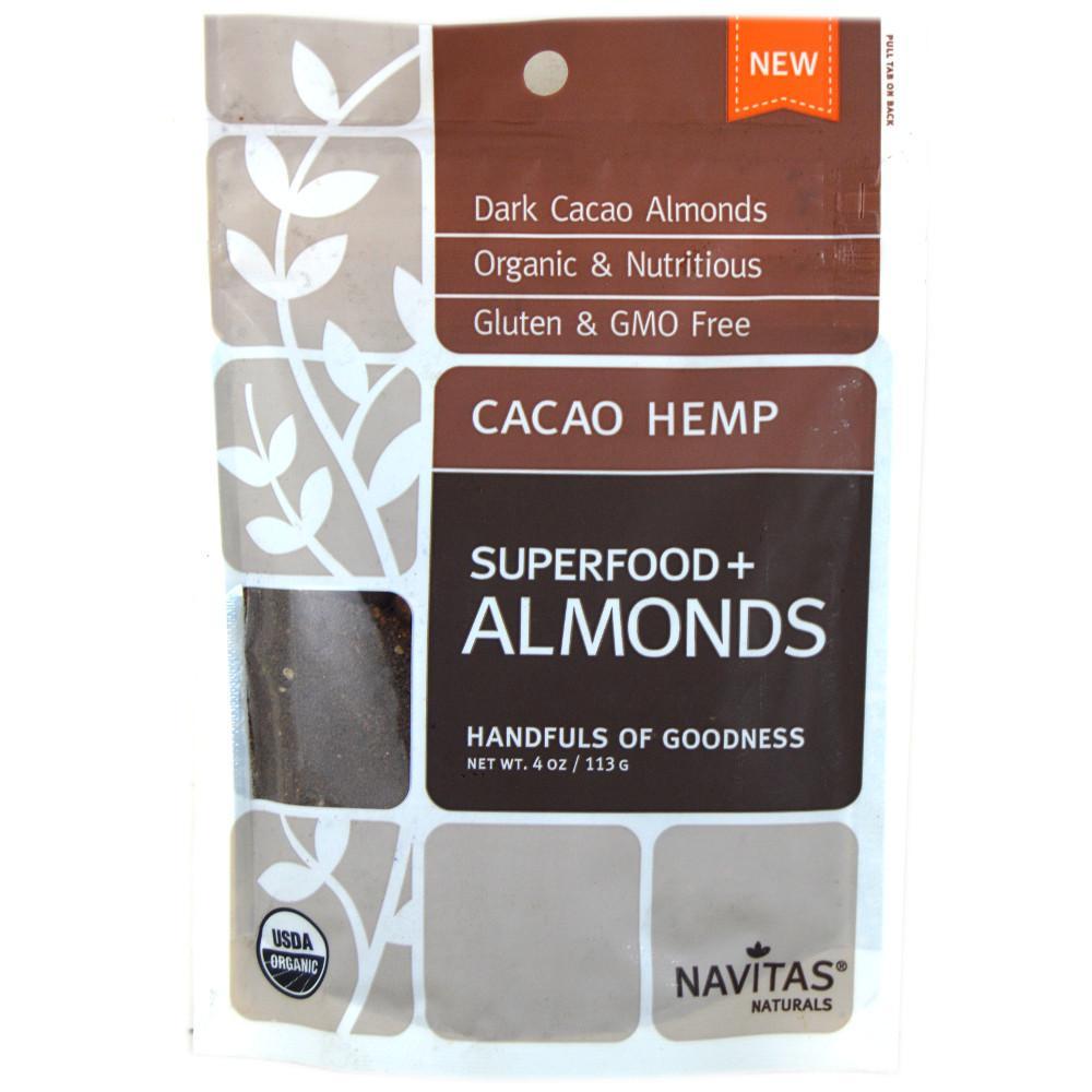 Navitas Naturals Cacao Hemp Superfood Almonds 113g