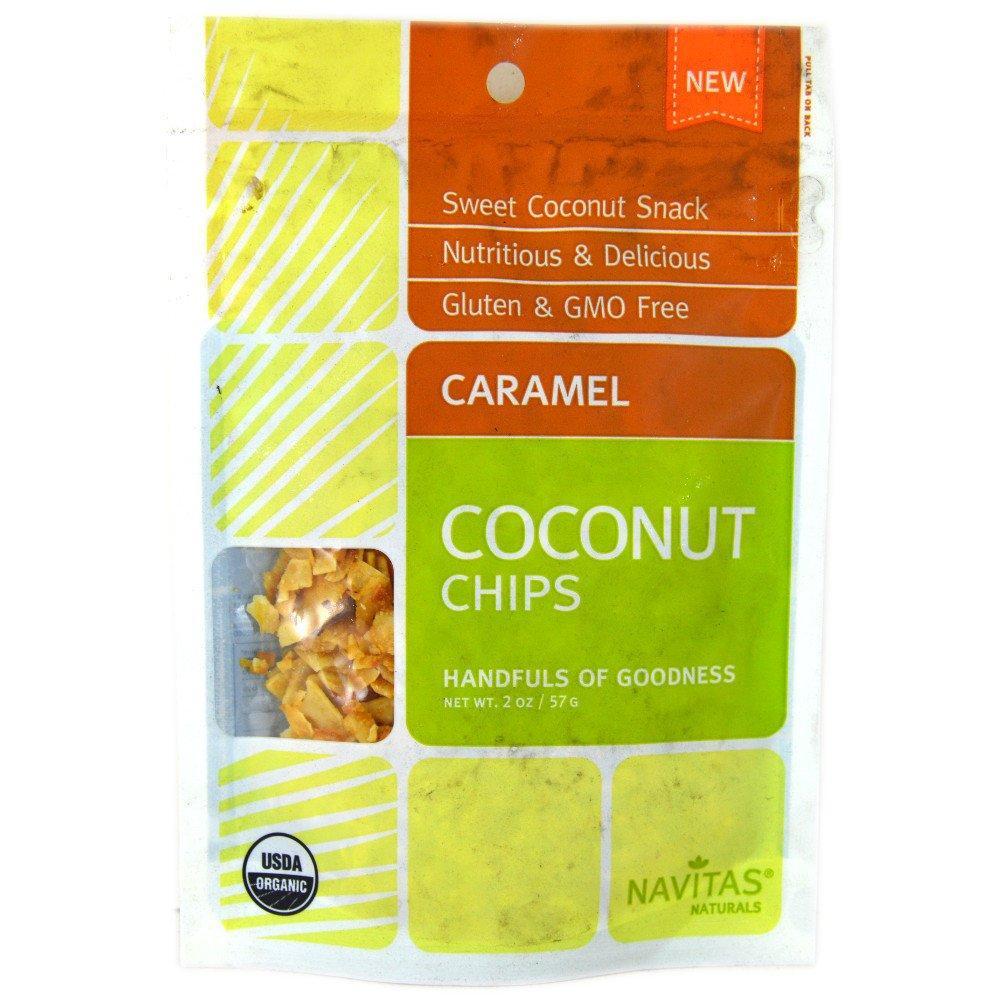 Navitas Naturals Caramel Coconut Chips 57g