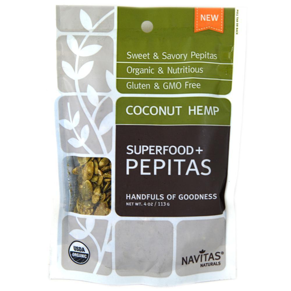 Navitas Naturals Coconut Hemp 113g