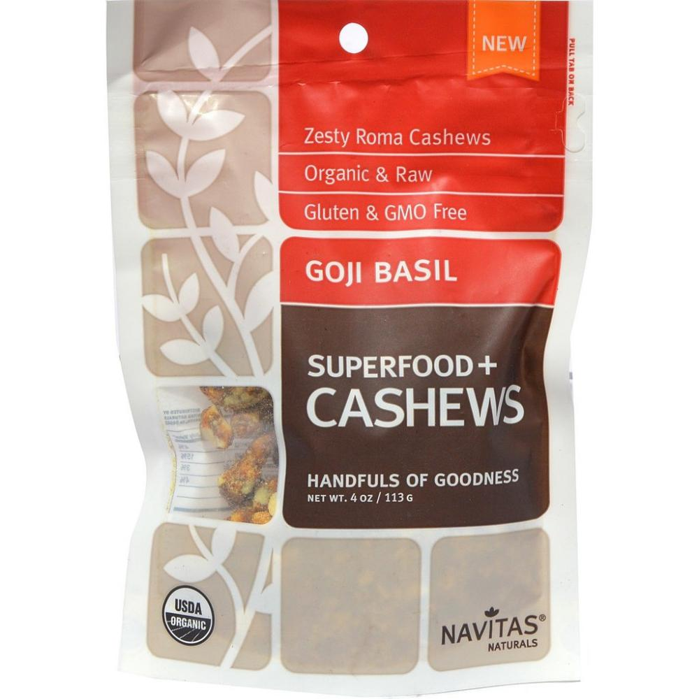 FURTHER REDUCTION  Navitas Naturals Goji Basil and Cashews 113g