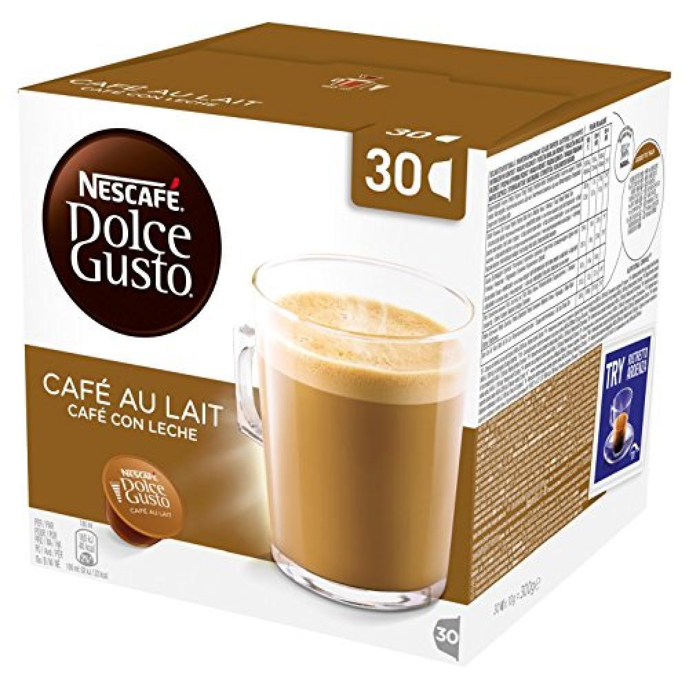 Nescafe Dolce Gusto Cafe Au Lait 30 Capsules 300g