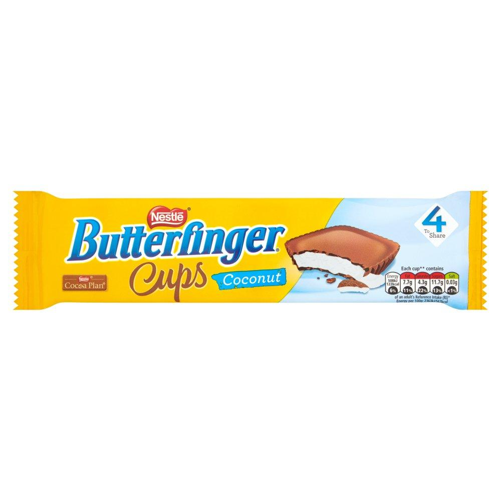 Nestle Butterfinger Coconut Cups 4 Pack