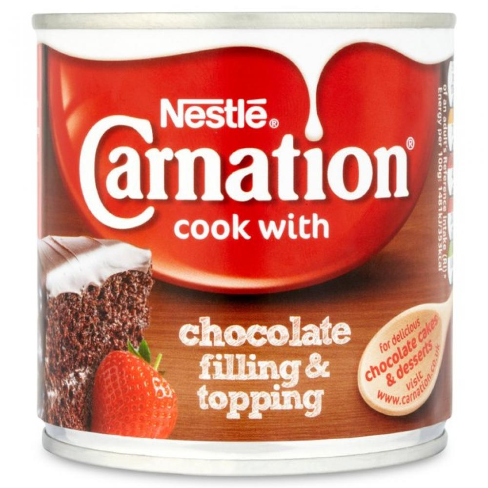 Nestle Carnation Cook With Chocolate Filling and Topping 363g