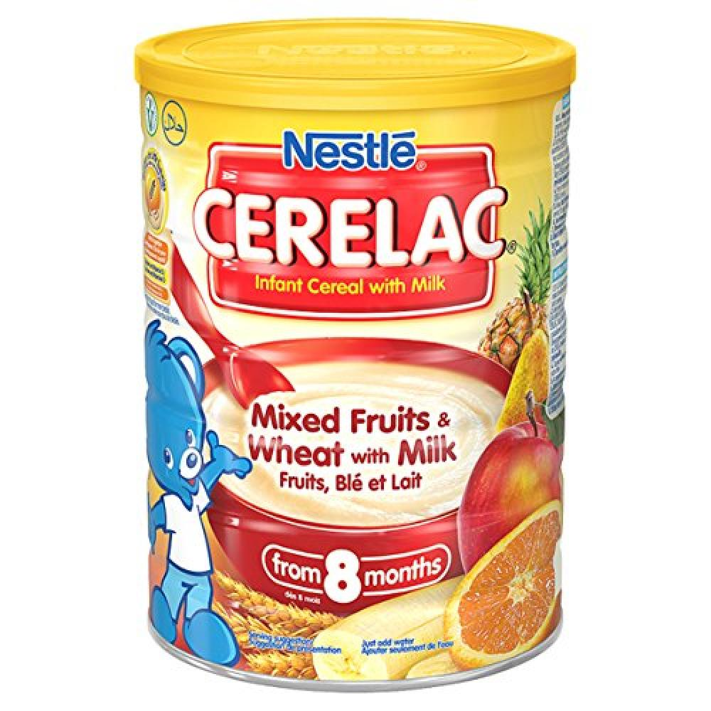 Nestle Cerelac Infant Cereal With Milk Mix Fruit And Wheat 1kg