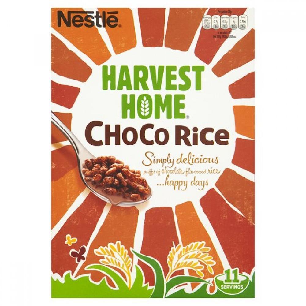 Nestle Harvest Home Choco Rice 350g