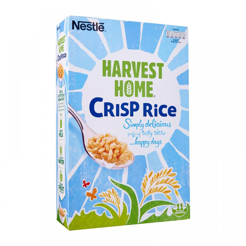 Nestle Harvest Home Crisp Rice 375g