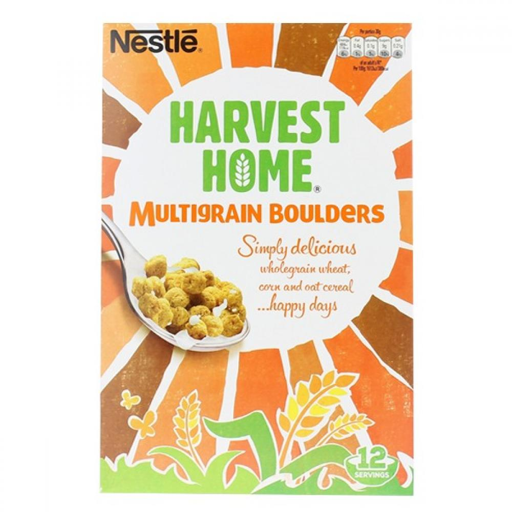 Nestle Harvest Home Multigrain Boulders 375g