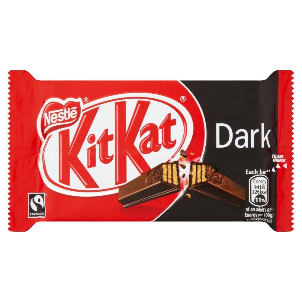 Nestle KitKat Dark Four Finger Bar 41.5g