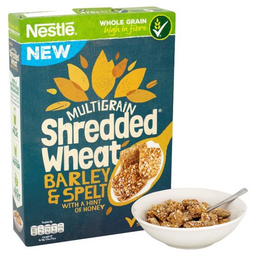 Nestle Shredded Wheat Barley And Spelt 475g