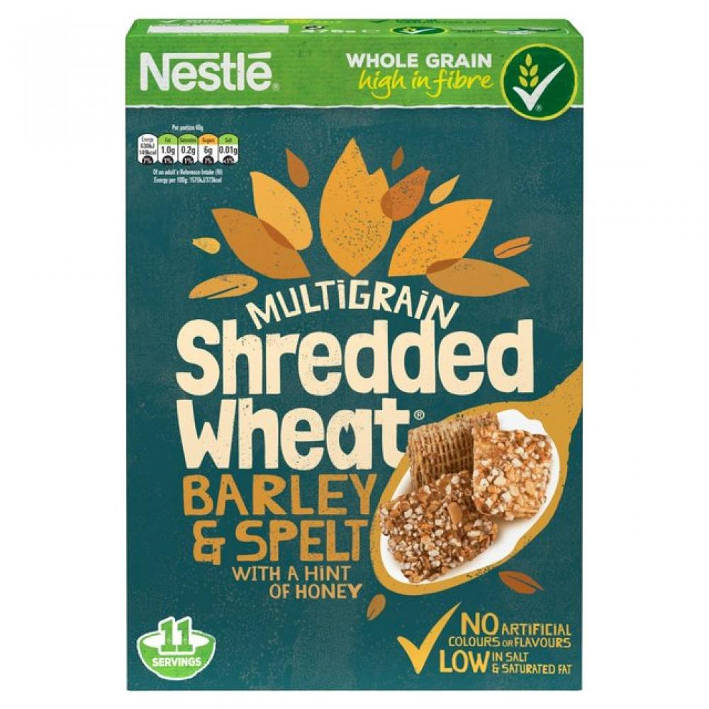 Nestle Shredded Wheat Barley And Spelt 475g