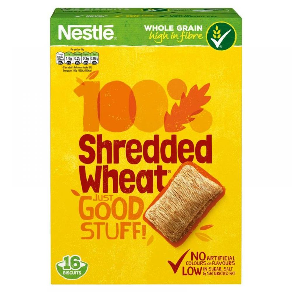 Nestle Shredded Wheat Biscuits 360g 16 biscuits