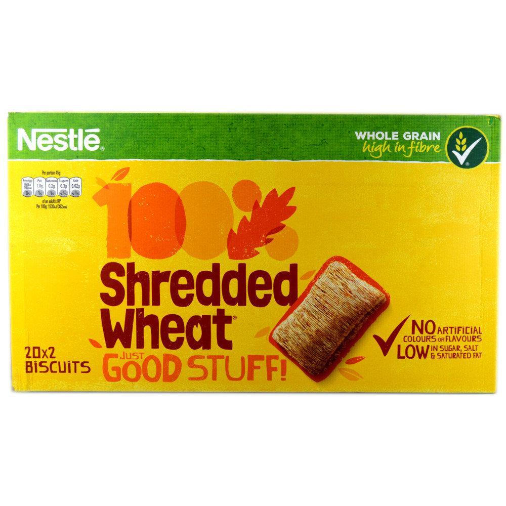 Nestle Shredded Wheat Original 2 pack x 20