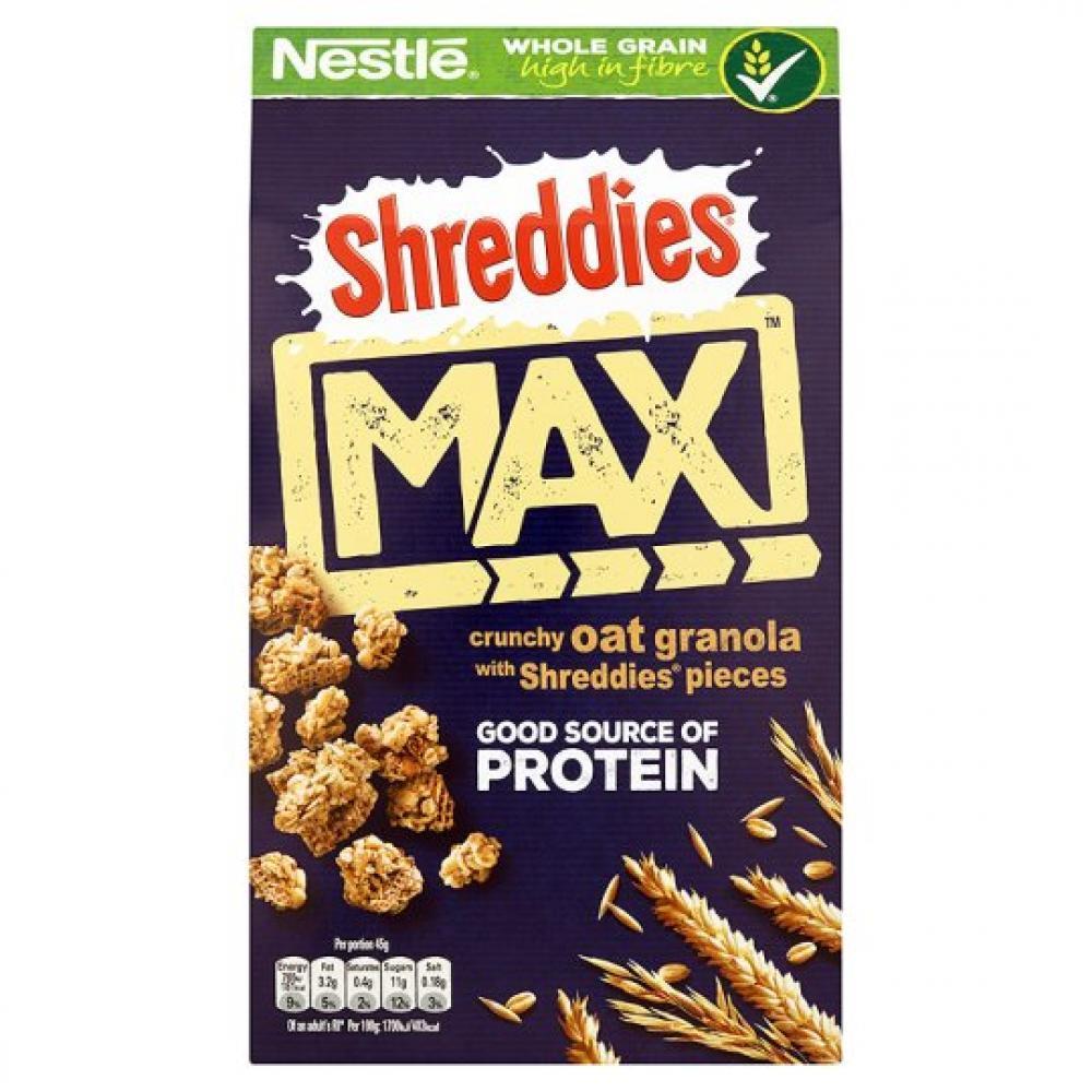 Nestle Shreddies Max Protein Oat Granola 400g