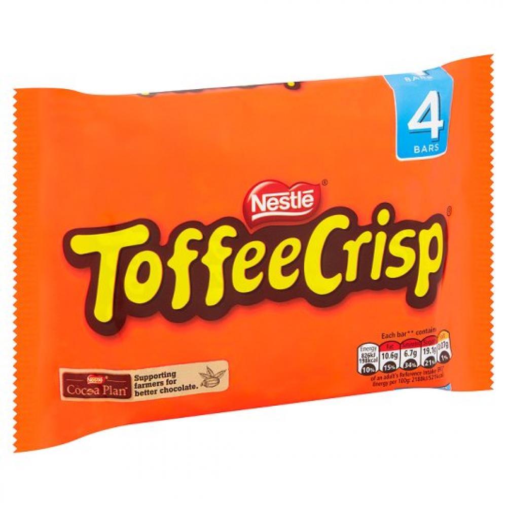 Nestle Toffee Crisp 38g x 4