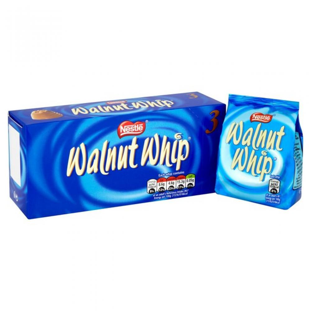 Nestle Walnut Whip 3 x 34g
