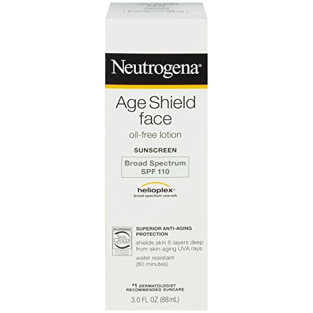 Neutrogena Age Shield Face Oil Free Lotion Sunscreen SPF 110 88 ml
