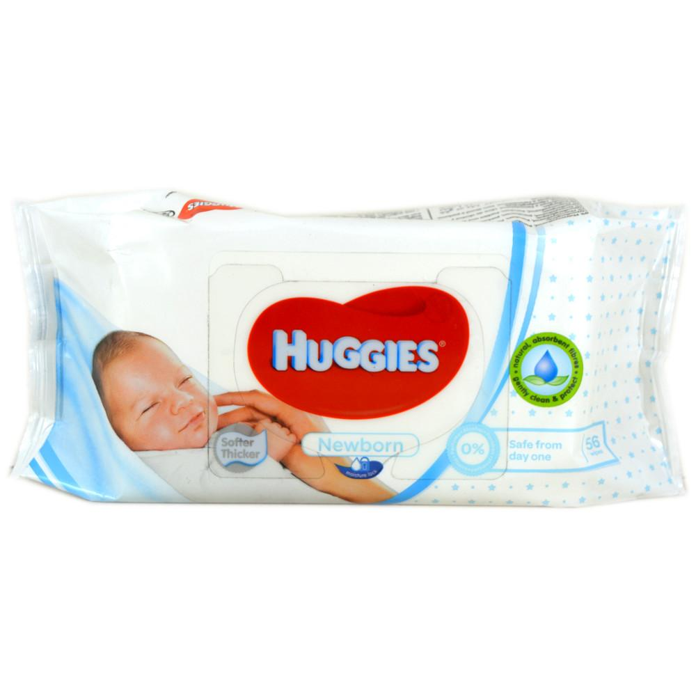 Huggies Newborn Wipes - Pack of 56