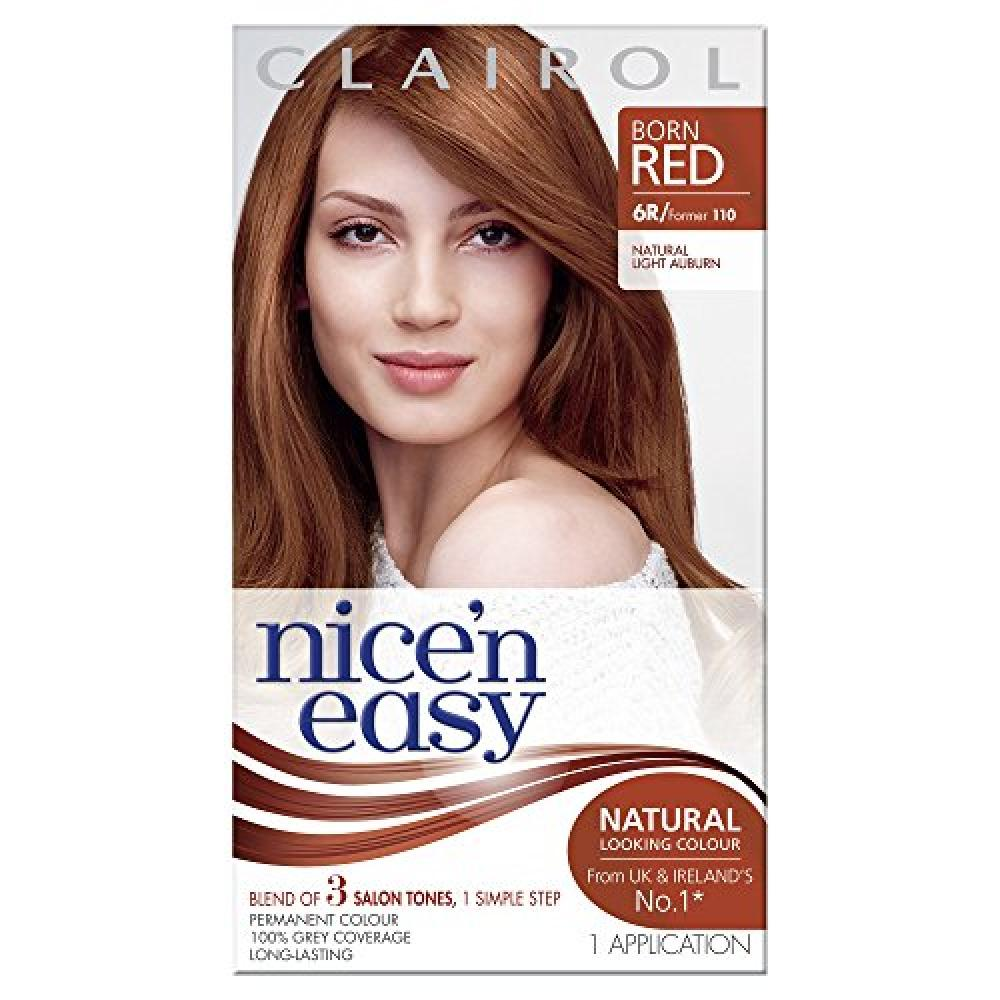 Nicen Easy Permanent Hair Colour - 110 Natural Light Auburn