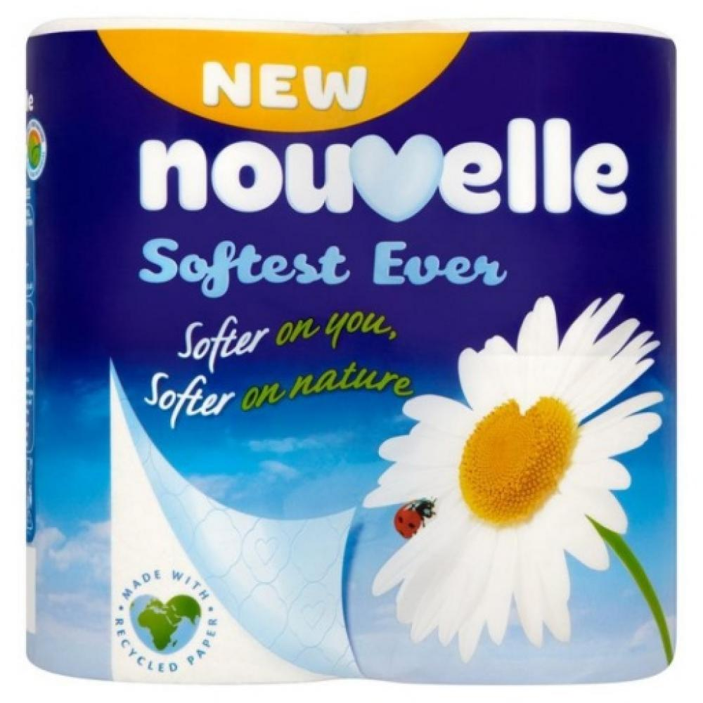 Nouvelle Soft Toilet Roll 4 Pack