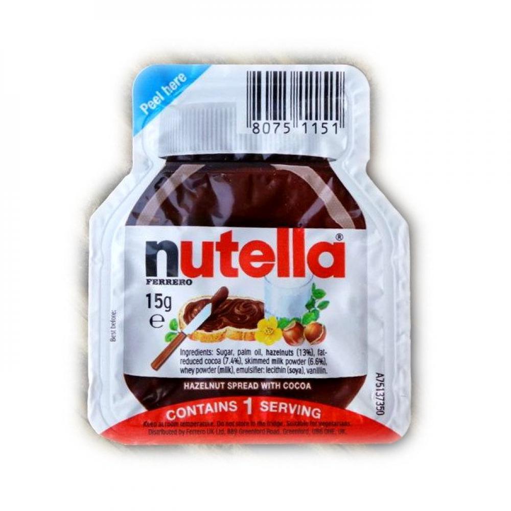 Nutella Hazlenut Spread With Cocoa 15g