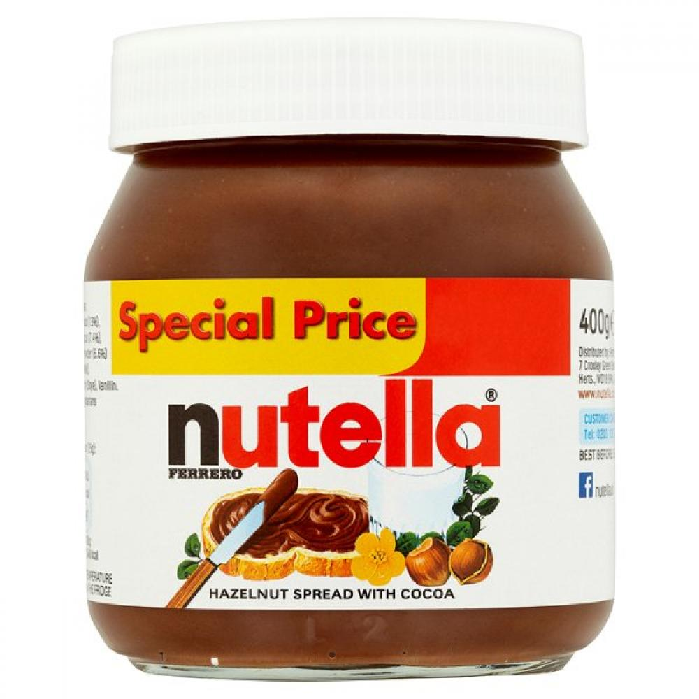 Nutella Hazlenut Spread With Cocoa 400g
