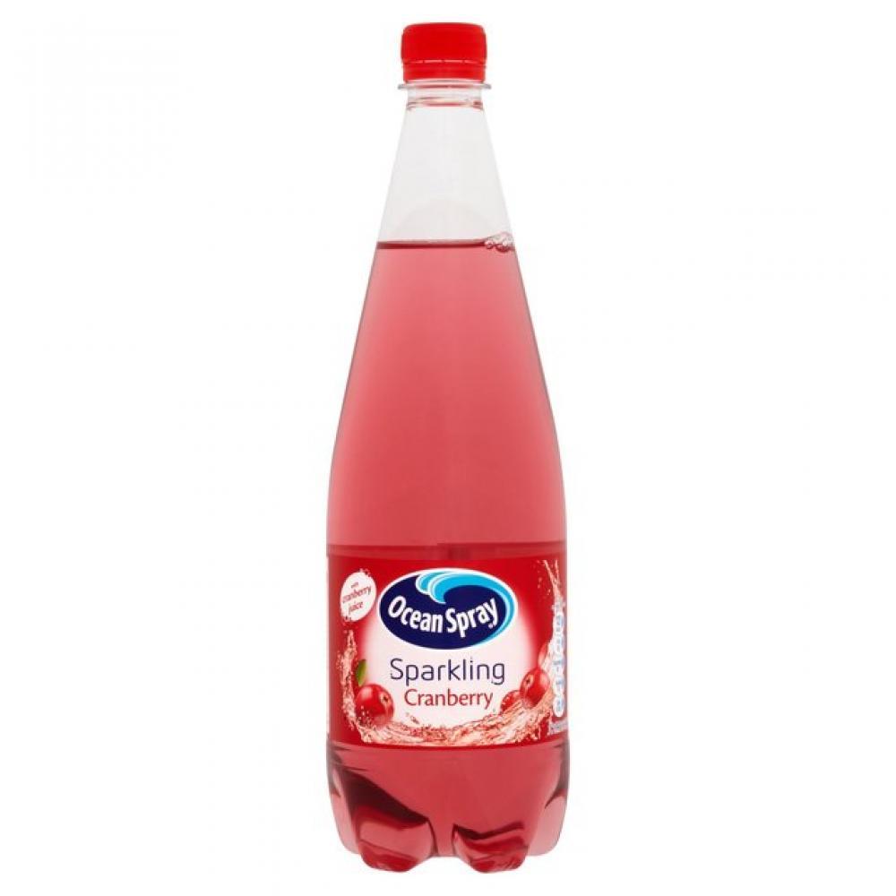 Ocean Spray Cranberry Sparkling 1 Litre