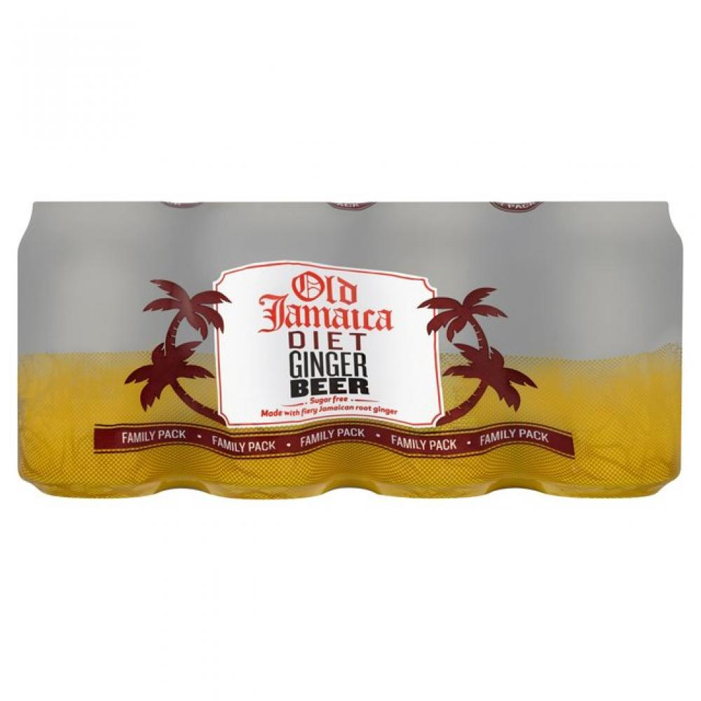 CASE PRICE  Old Jamaica Diet Ginger Beer 330ml x 8