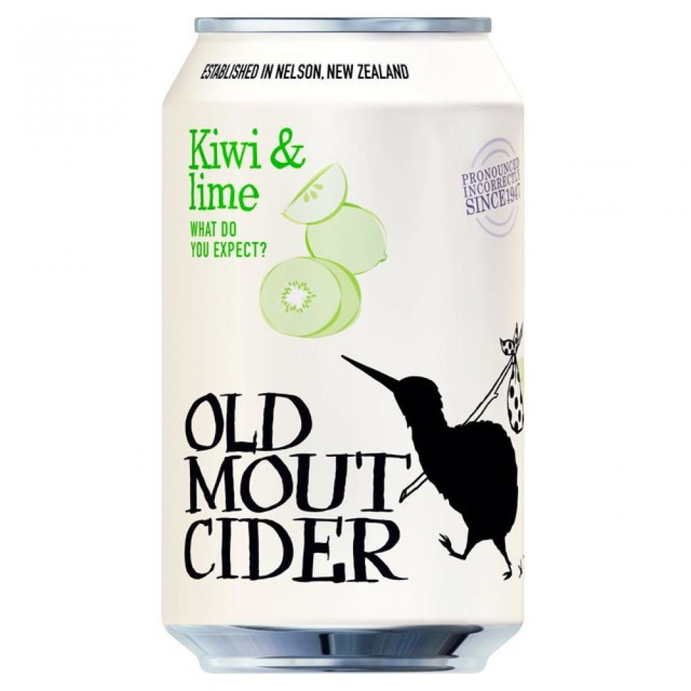 Old Mout Cider Kiwi and Lime 330ml