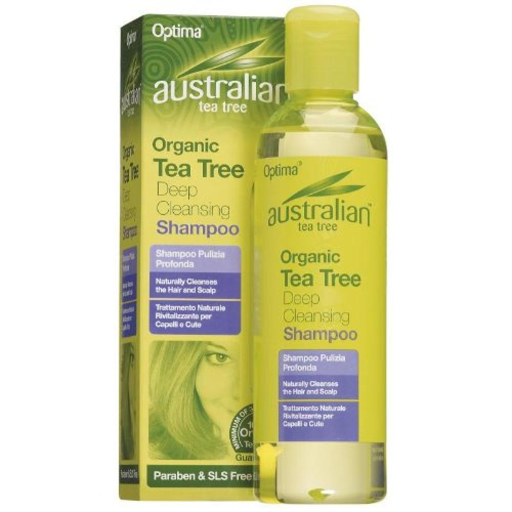 Optima Australian Tea Tree Deep Cleansing Shampoo 250 ml
