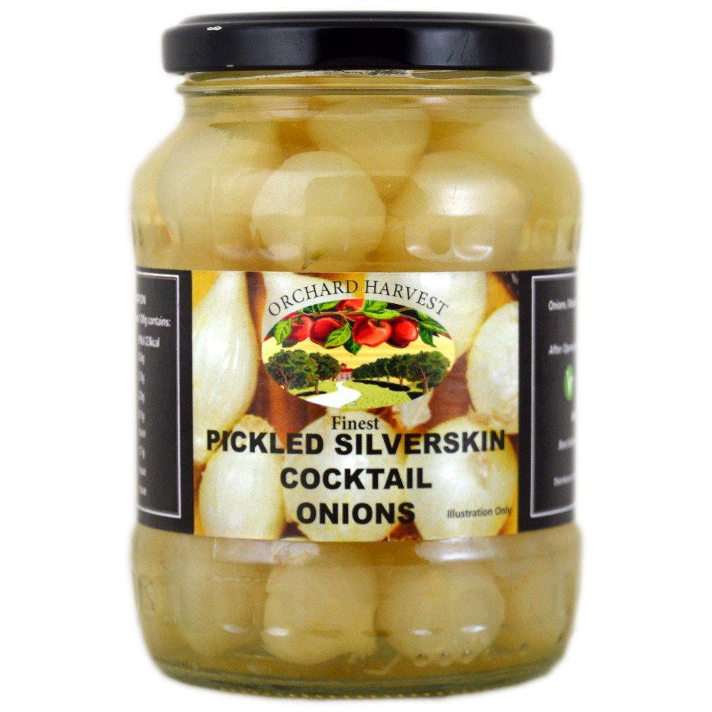 Orchard Harvest Pickled Silverskin Cocktail Onions 320g