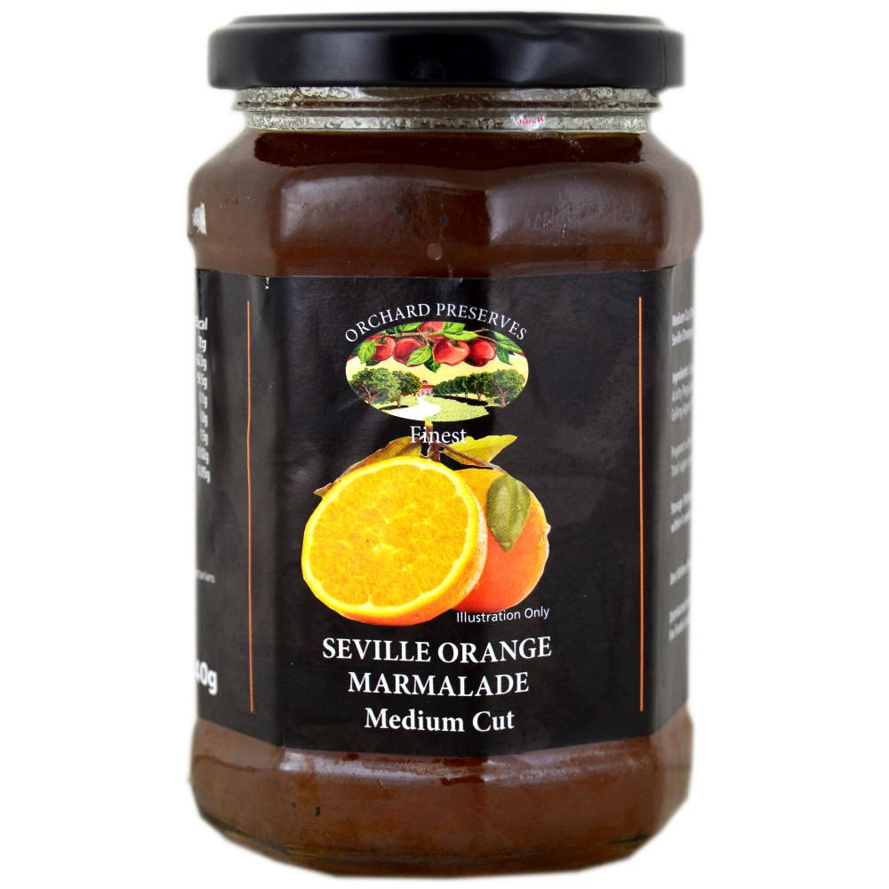 Orchard Preserves Seville Orange Marmalade Medium Cut 340g