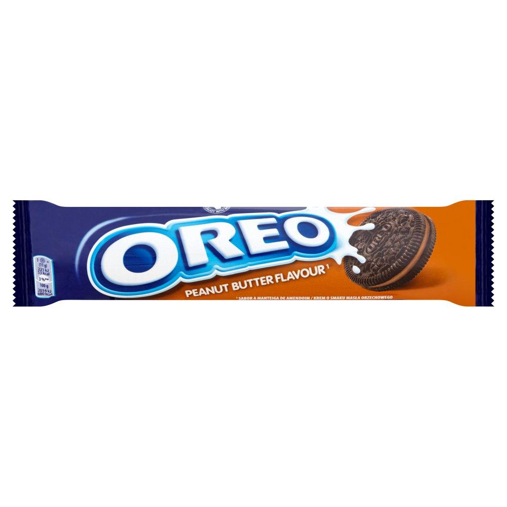 Oreo Peanut Butter Flavour Limited Edition 154g