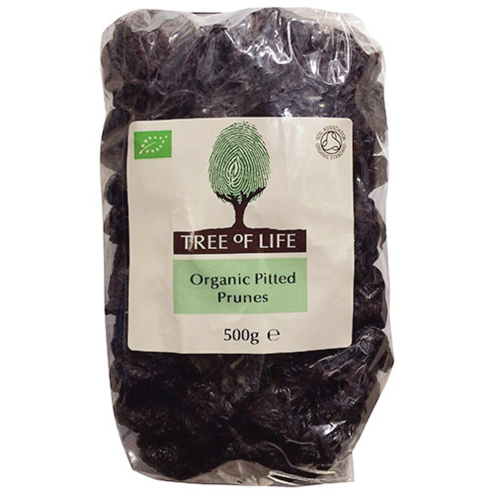 Tree Of Life Organic Pitted Prunes 500g