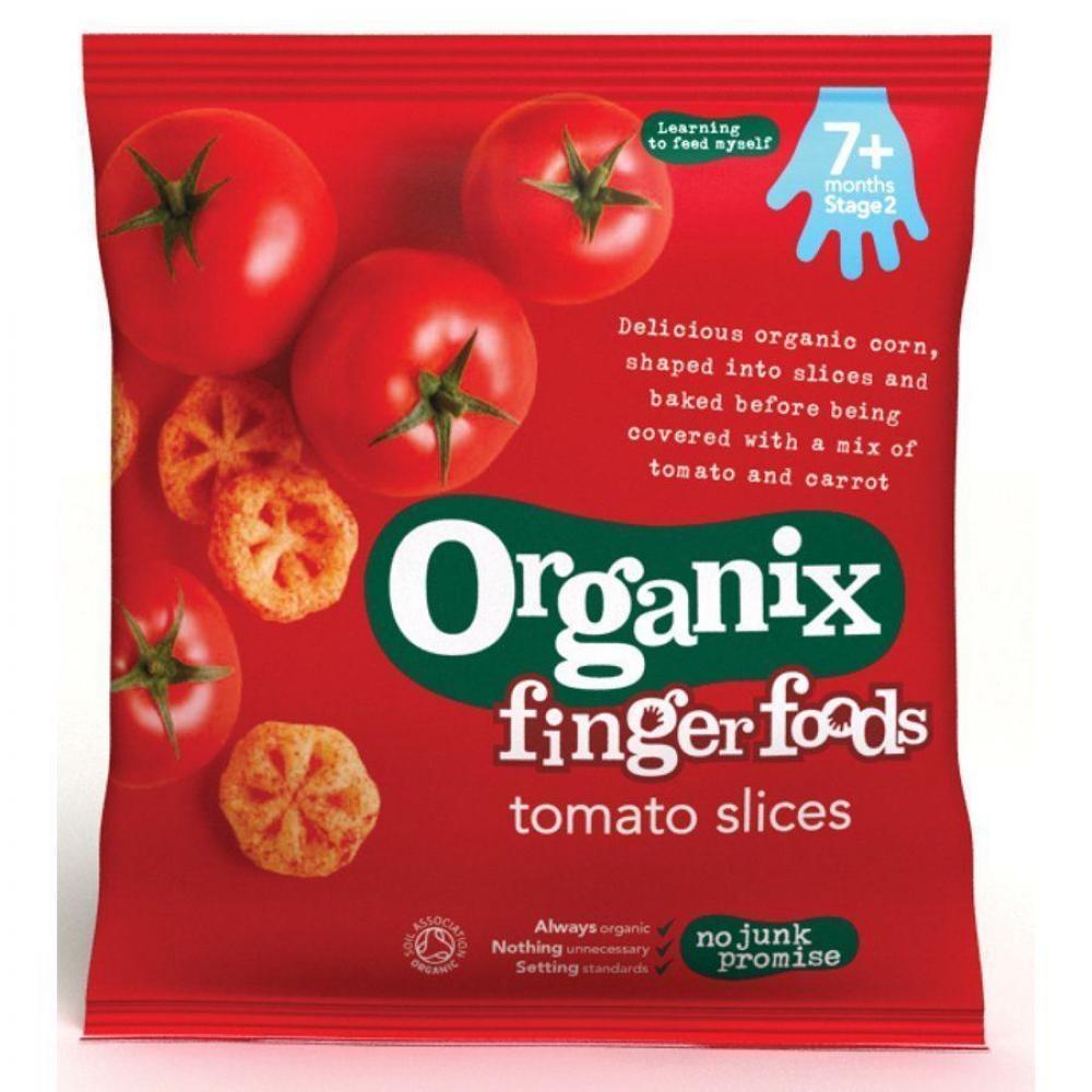 Organix Finger Food Tomato Slices 20g