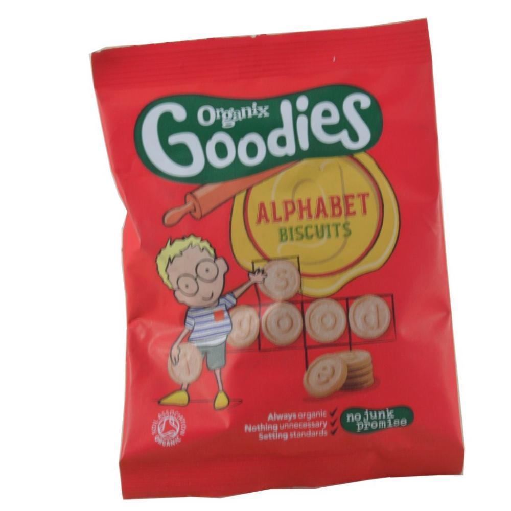 Organix Goodies Alphabet Biscuits 25g
