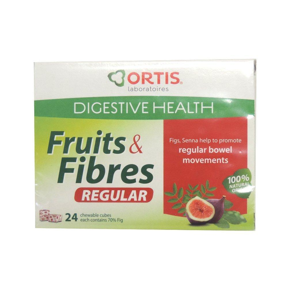 Ortis Digestive Health Fruits and Fibres Regular 240g
