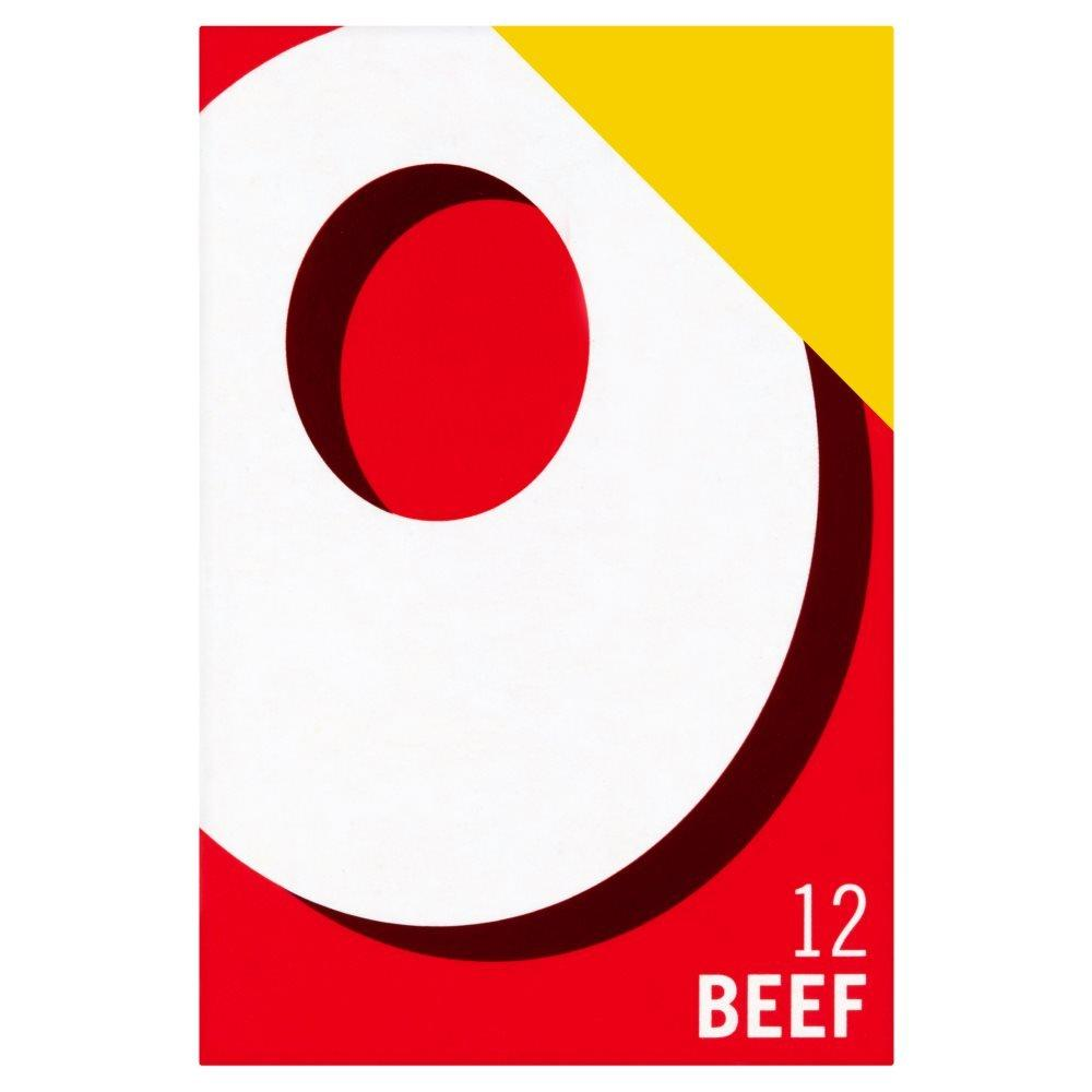 Oxo 12 Beef Stock Cubes