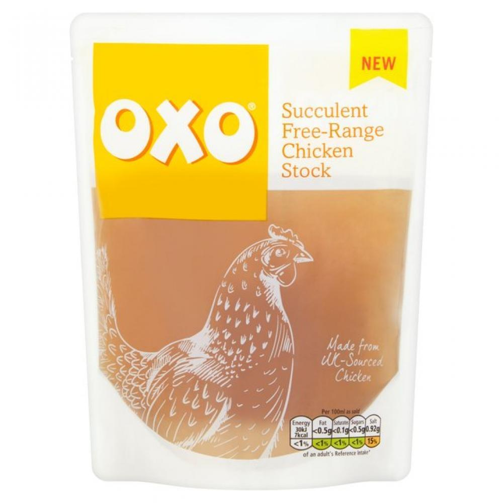 Oxo Succulent Free Range Chicken Stock 320ml