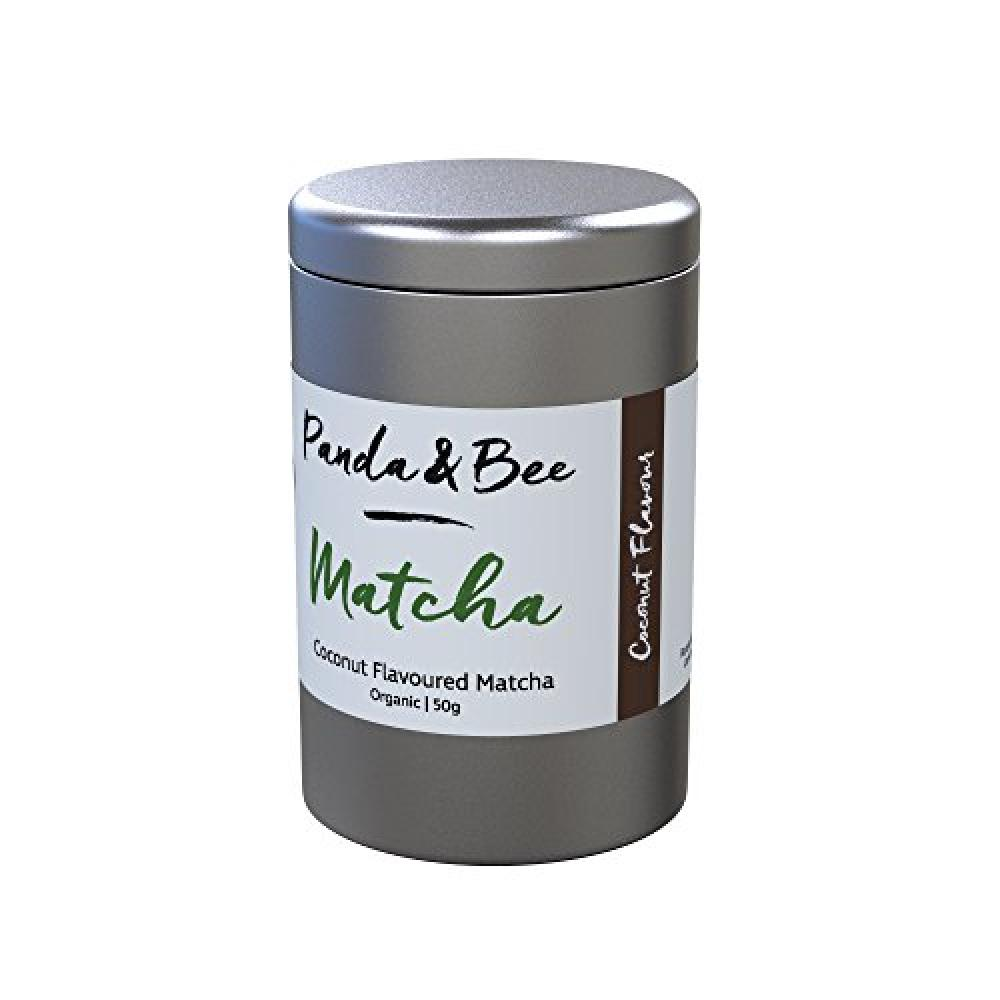 Panda and Bee Matcha - Flavoured Ceremonial and Culinary Grade (Coconut)