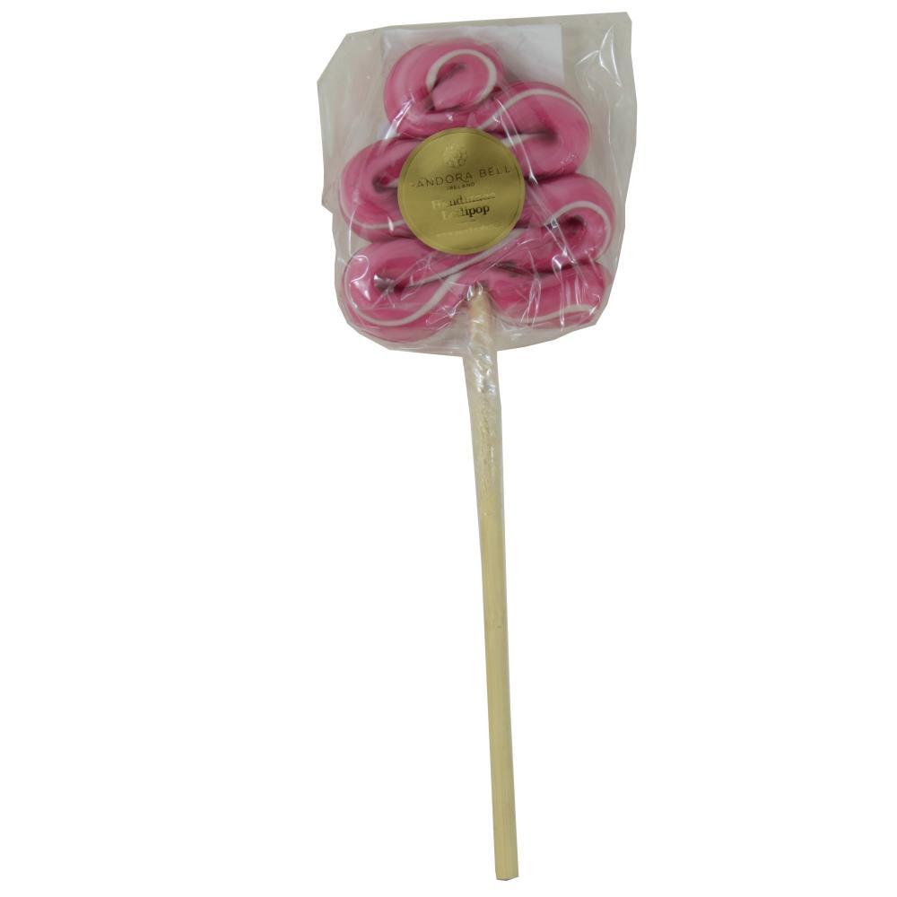 Pandora bell Cranberry Handmade Lollipop 80g
