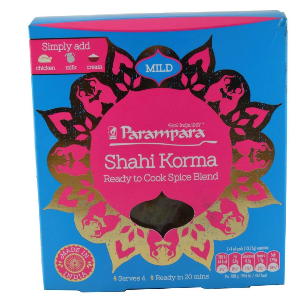 FURTHER REDUCTION  Parampara Shahi Korma Spice Mix Mild 55g