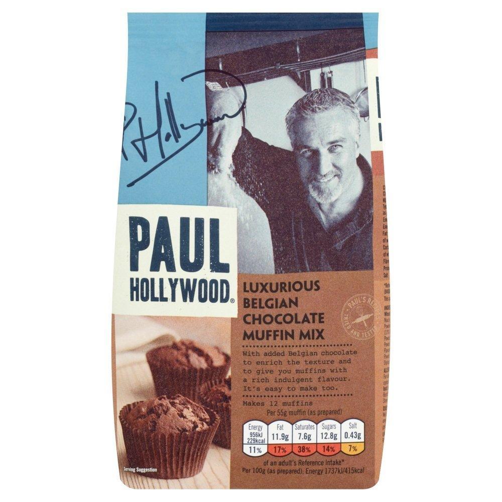 Paul Hollywood Luxurious Belgian Chocolate Muffin Mix 400g
