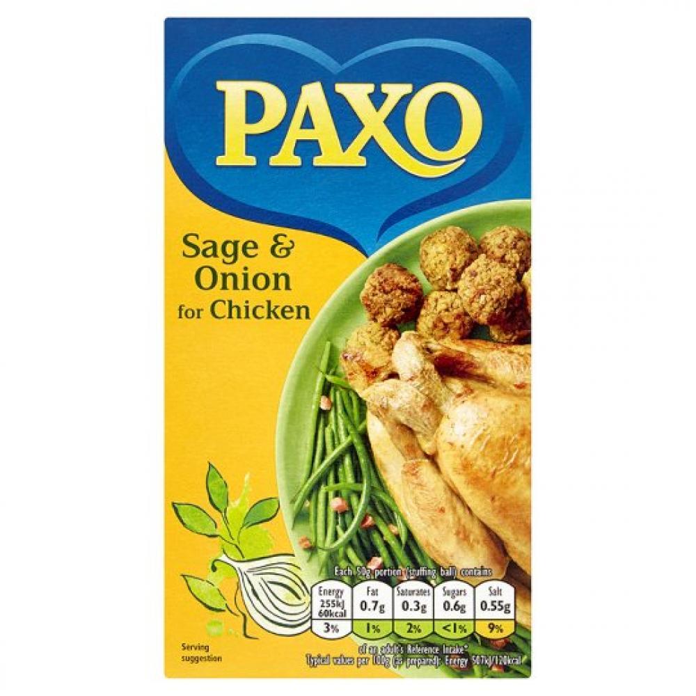 Paxo Sage and Onion Stuffing Mix 85g