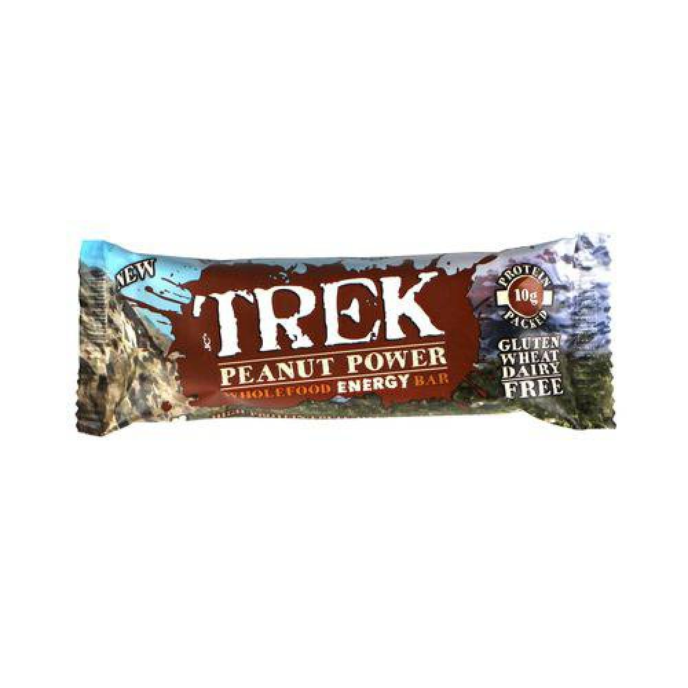 Trek Peanut Power Wholefood Energy Bar 55g
