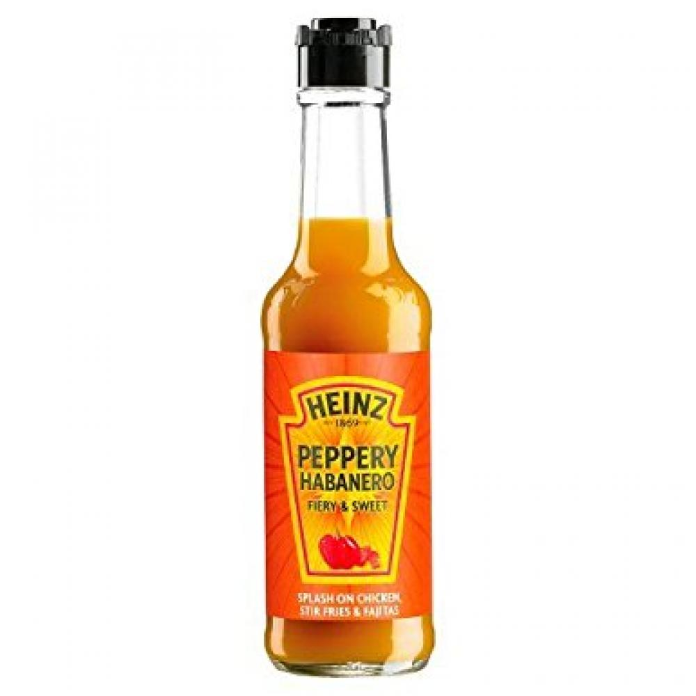 FURTHER REDUCTION  Heinz Peppery Habanero Fiery and Sweet 150ml