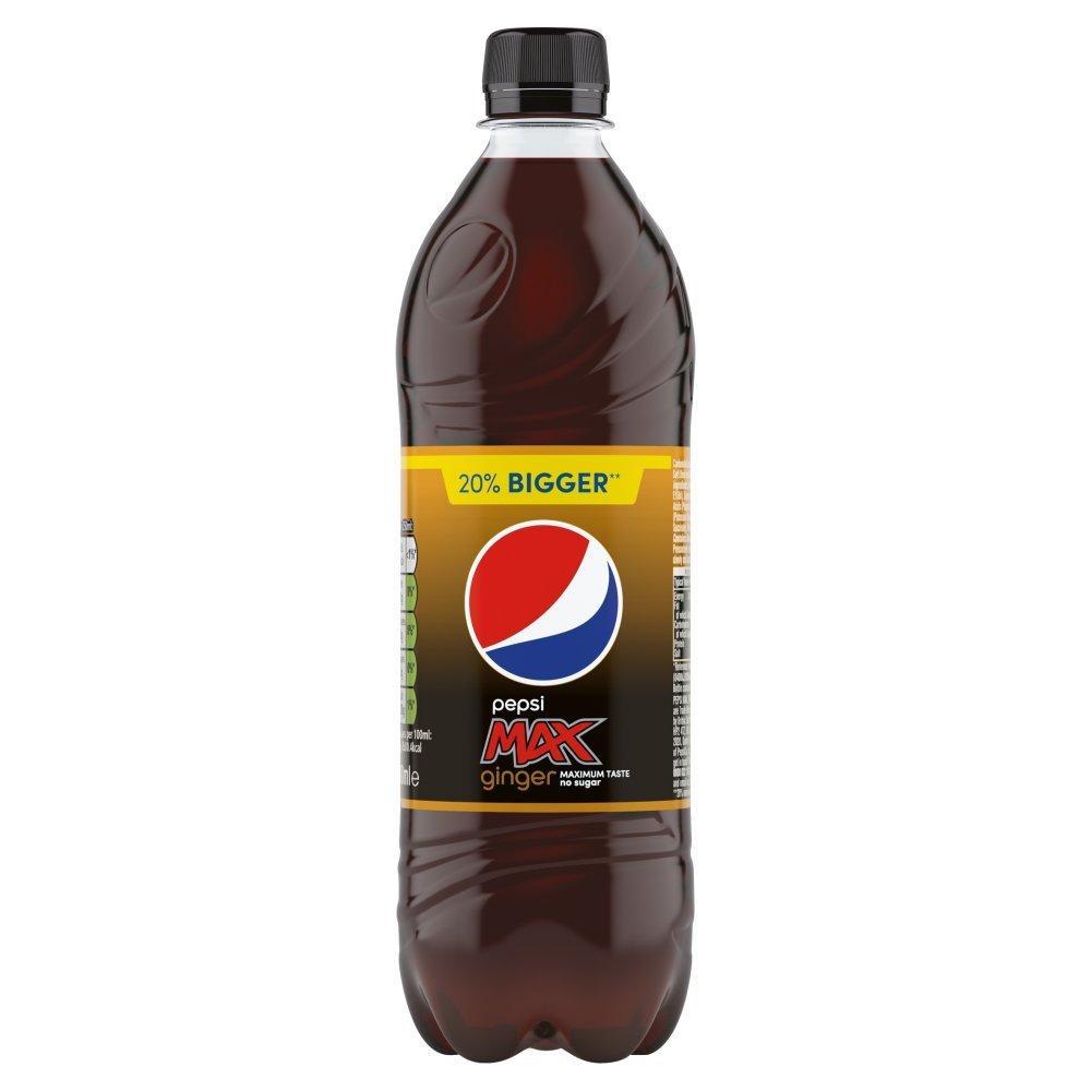 Pepsi Max Ginger 600ml